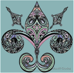 Fleur-de-lis by Amy Brown of Mastiff Studios.com